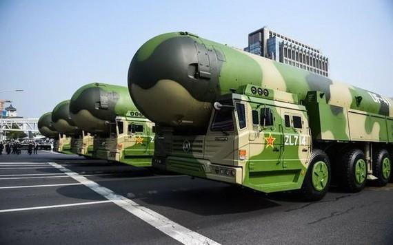 日本長崎大學核武器廢除研究中心11日公佈估算結果稱,全世界9個國家截至6月擁有約1萬3130枚核彈頭。(示意圖源:互聯網)