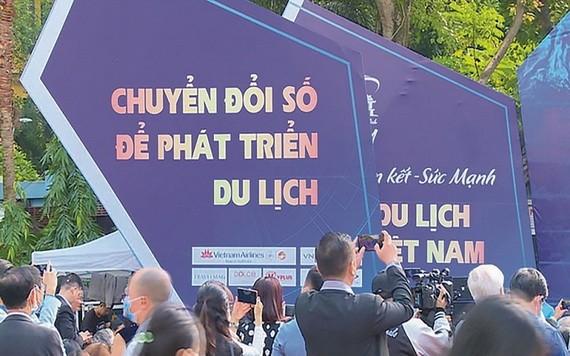 圖為 2020 年越南國際旅遊展銷會現場一瞥。(圖源: LA)