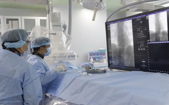 芹苴心血管中風醫院的中風干涉病例。