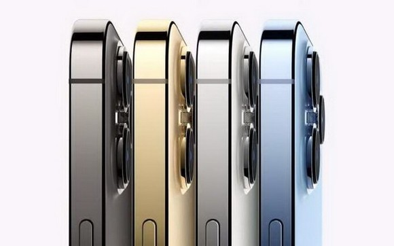 iPhone 13 Pro系列備有4色選擇。(圖源:互聯網)
