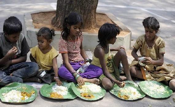印度兒童營養不良率逐漸加劇。(圖源:互聯網)