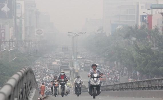 本市空氣污染是一個令人擔憂的問題。(圖源:阮實)