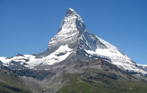 馬特宏峰是瑞士引以為傲的象徵。