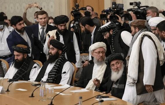 阿富汗高級代表參加阿富汗問題莫斯科會談。(圖源:塔斯社)