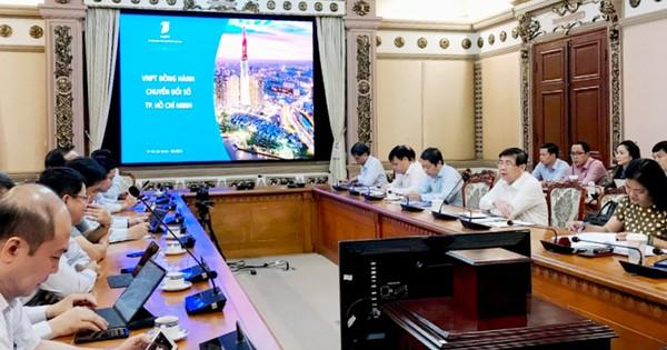 TPHCM và VNPT phối hợp xây dựng hạ tầng số, nền tảng số