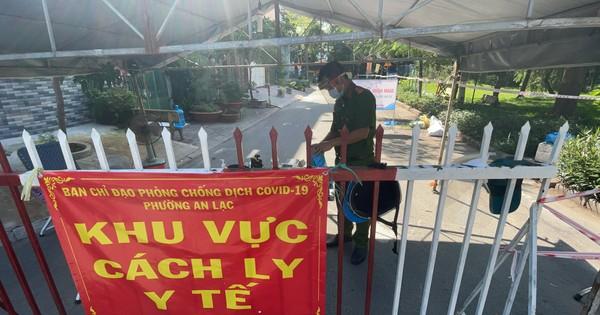 Phong tỏa một phần phường An Lạc, quận Bình Tân theo...