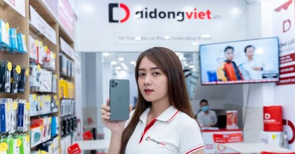 Nhiều sản phẩm công nghệ được giảm giá tại hệ thống Di Động Việt