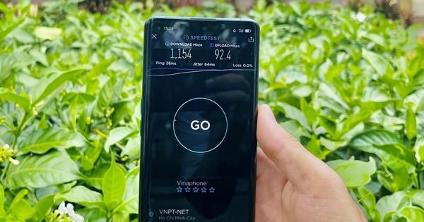 VinaPhone phủ sóng 5G tại Bình Phước
