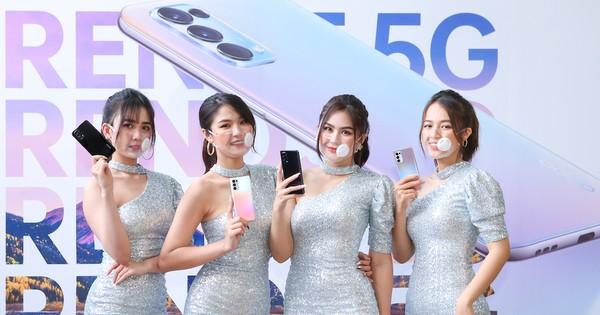 OPPO đồng hành cùng 5G với Reno5 5G giá gần 12 triệu đồng