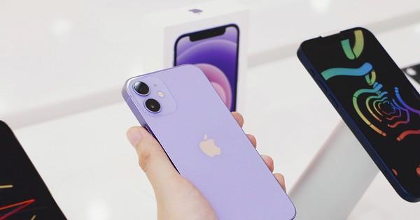FPT Shop lên kệ iPhone 12 chính hãng màu tím
