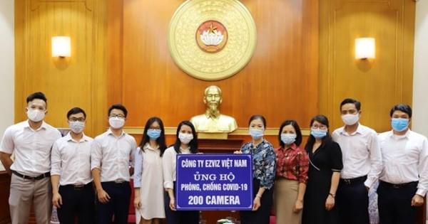 EZVIZ trao tặng 200 camera EZVIZ C1C hỗ trợ cho những y bác sĩ nơi đầu tuyến chống dịch