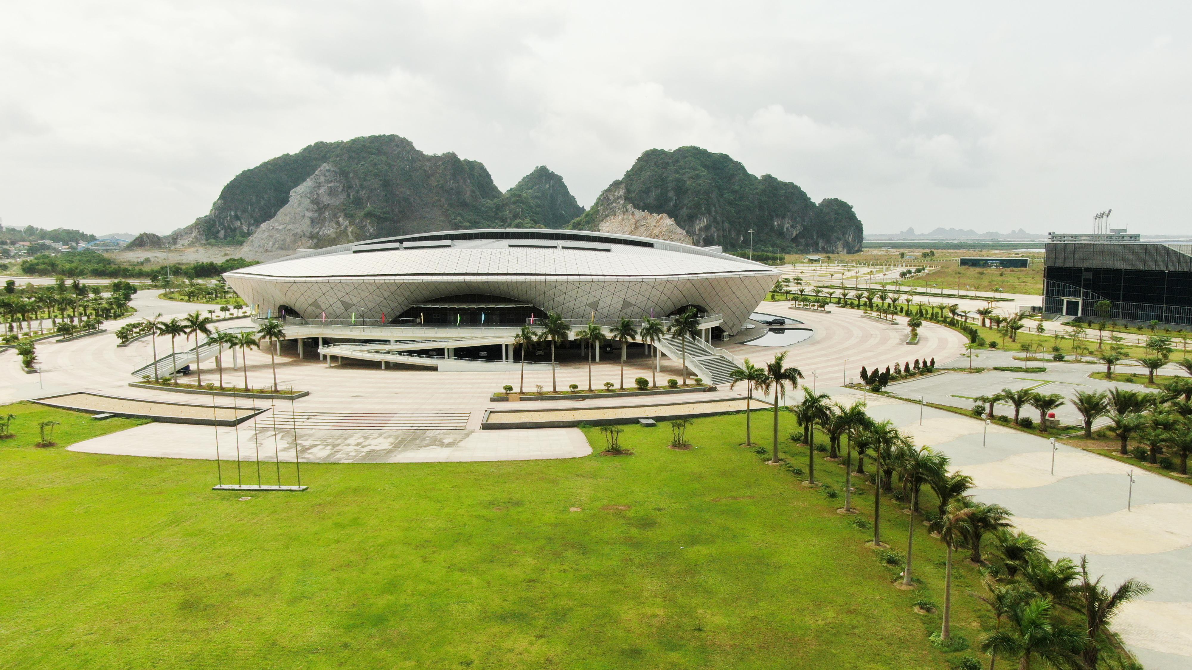 Nhà thi đấu nghìn tỷ và khát vọng của thể thao Quảng Ninh ảnh 1