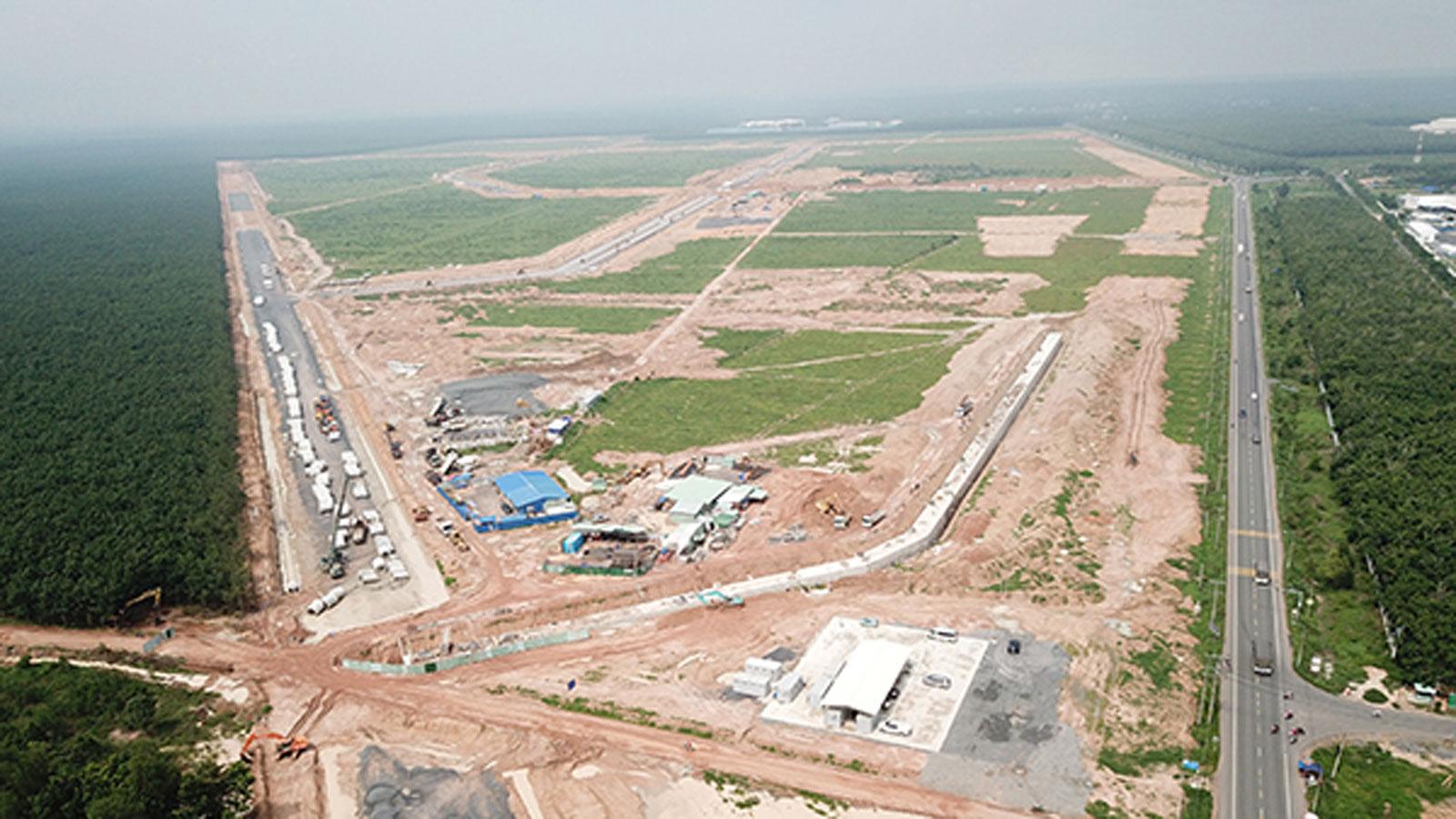 Tổ chức cắm mốc 3.000 lô đất trong khu tái định cư Lộc An - Bình Sơn
