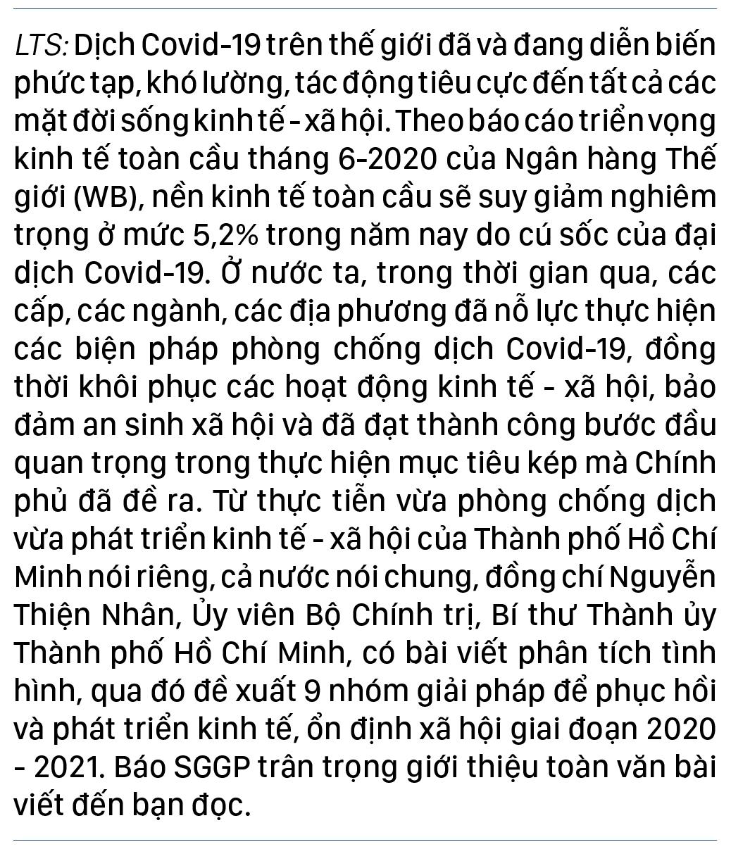 Diễn biến dịch COVID-19 trên thế giới và kiến nghị 9 nhóm giải pháp phục hồi phát triển kinh tế Việt Nam ảnh 1