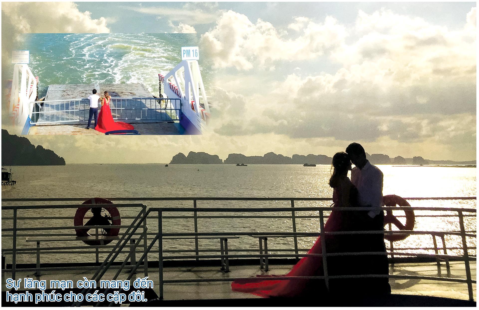 Ngắm Kỳ quan  Vịnh Hạ Long lãng mạn  từ Phà Tuần Châu ảnh 4