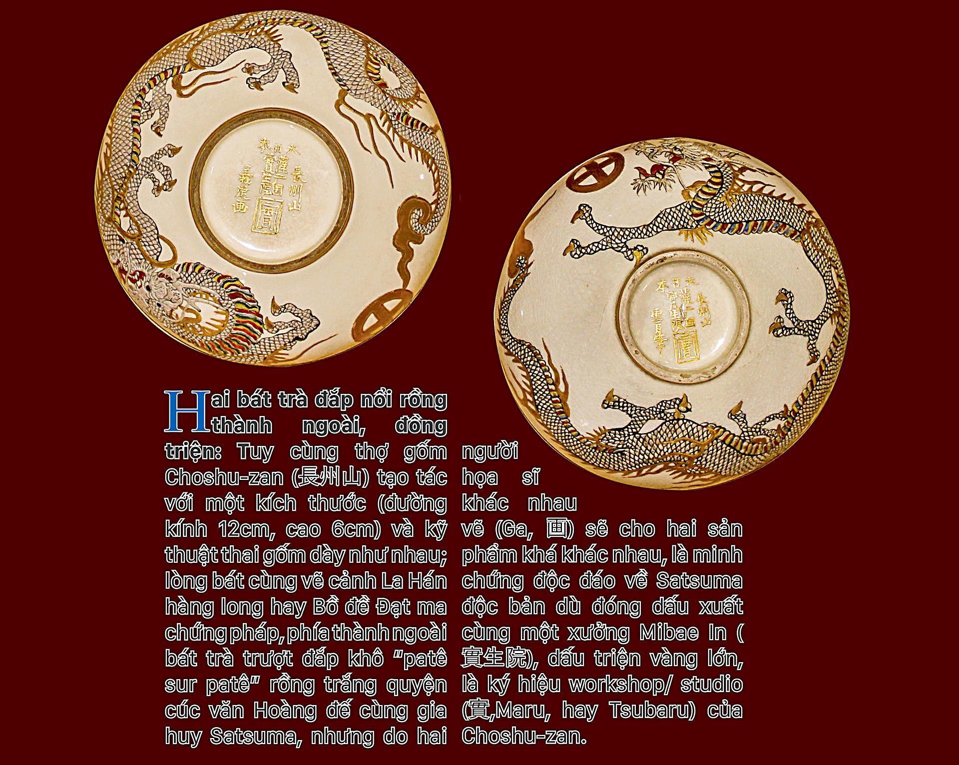 Biểu tượng vương quyền trên những bát trà   ảnh 6