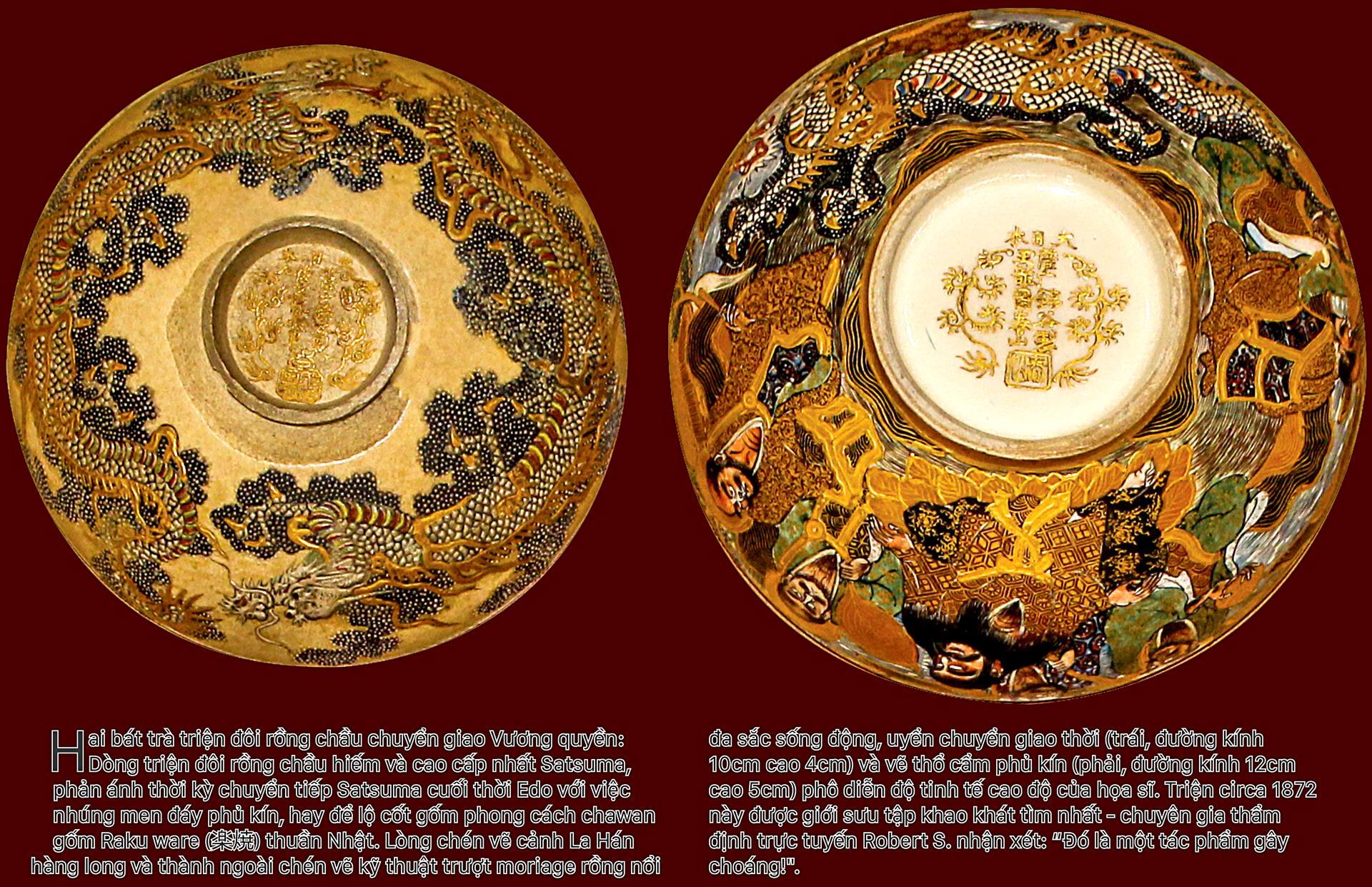 Biểu tượng vương quyền trên những bát trà   ảnh 2