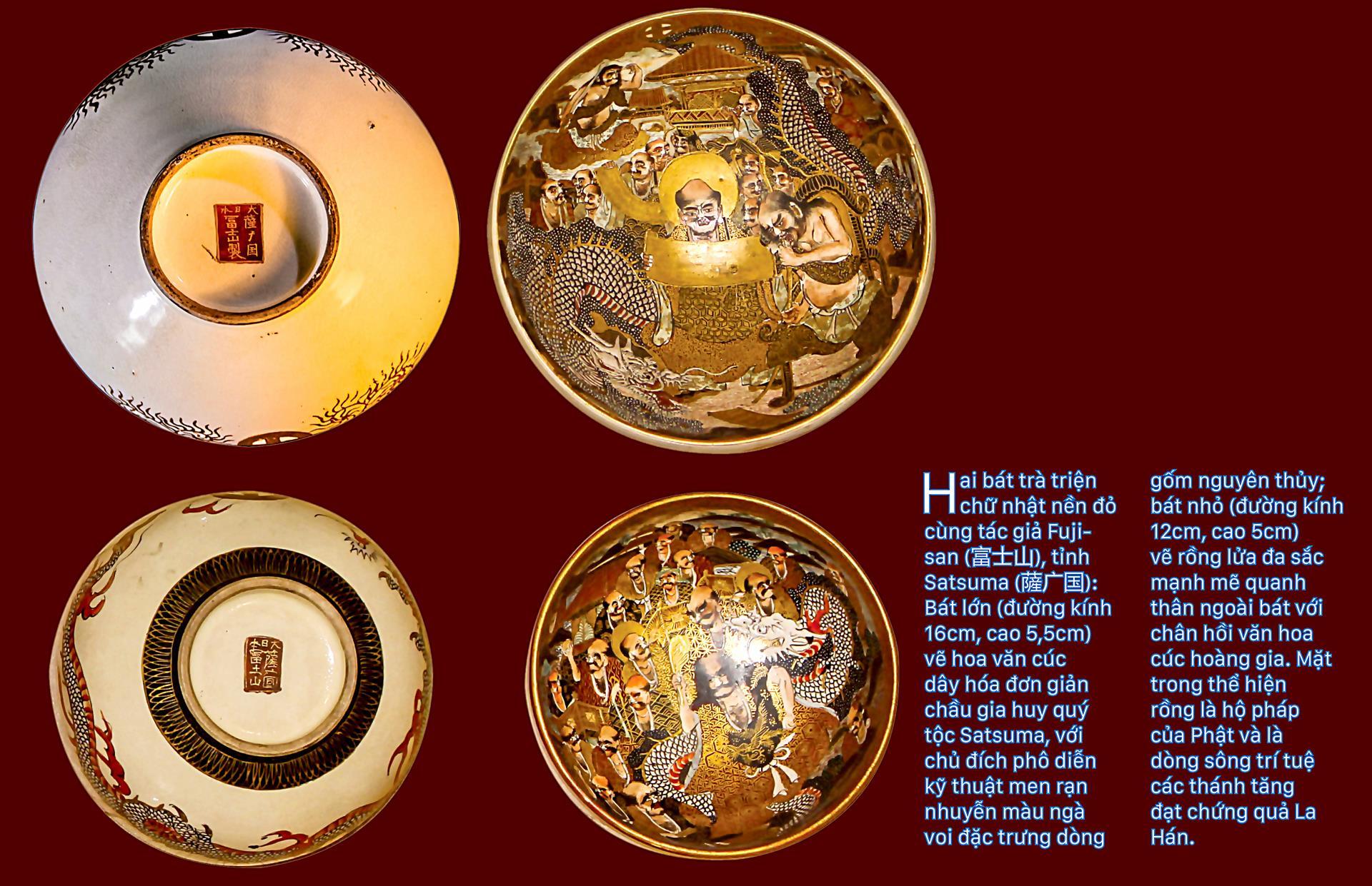 Biểu tượng vương quyền trên những bát trà   ảnh 4