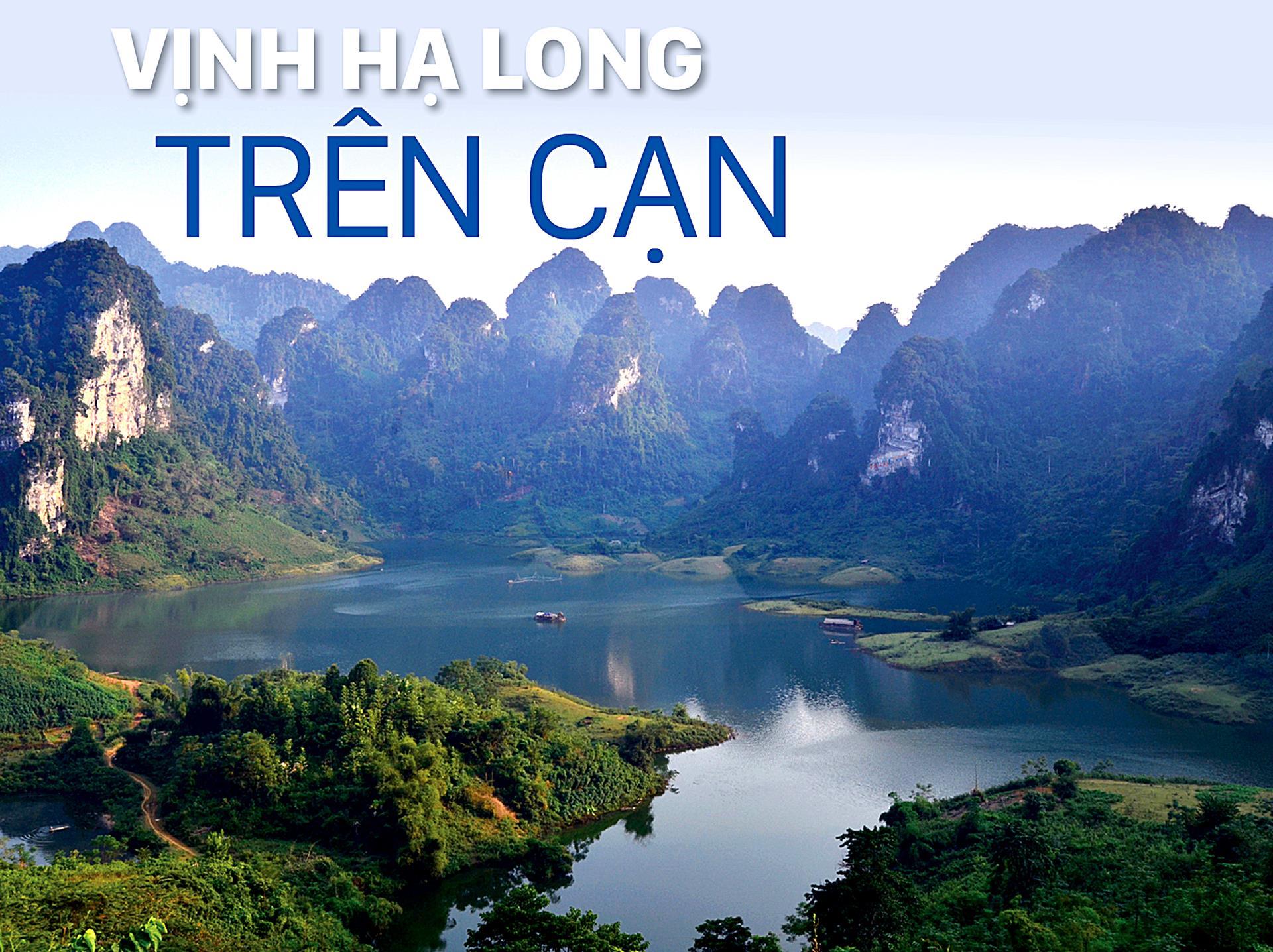 Vịnh Hạ Long trên cạn