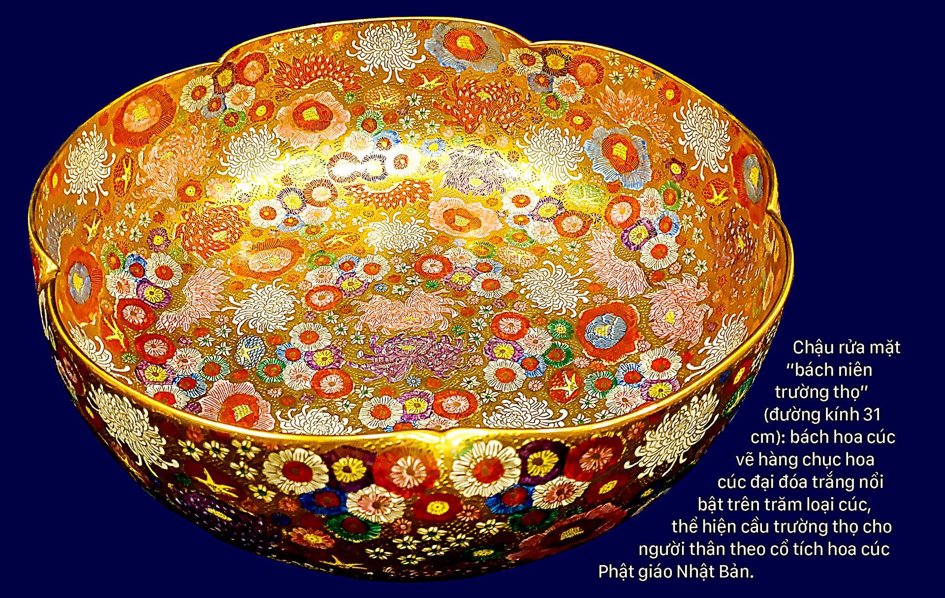 Nghệ thuật thị giác người Nhật qua gốm Bách hoa ảnh 5