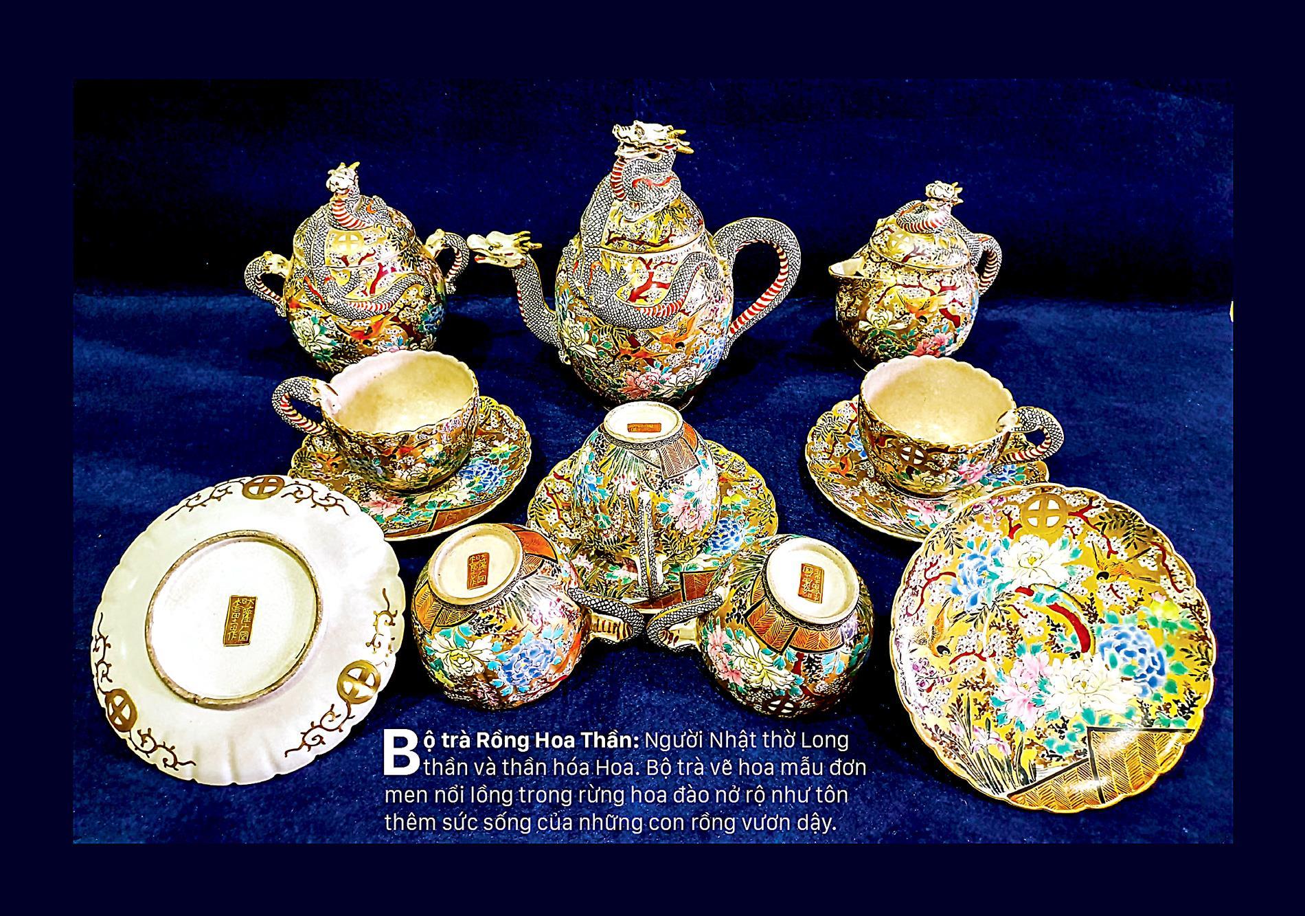 Giao thoa Đông - Tây qua những bộ trà SATSUMA ảnh 2