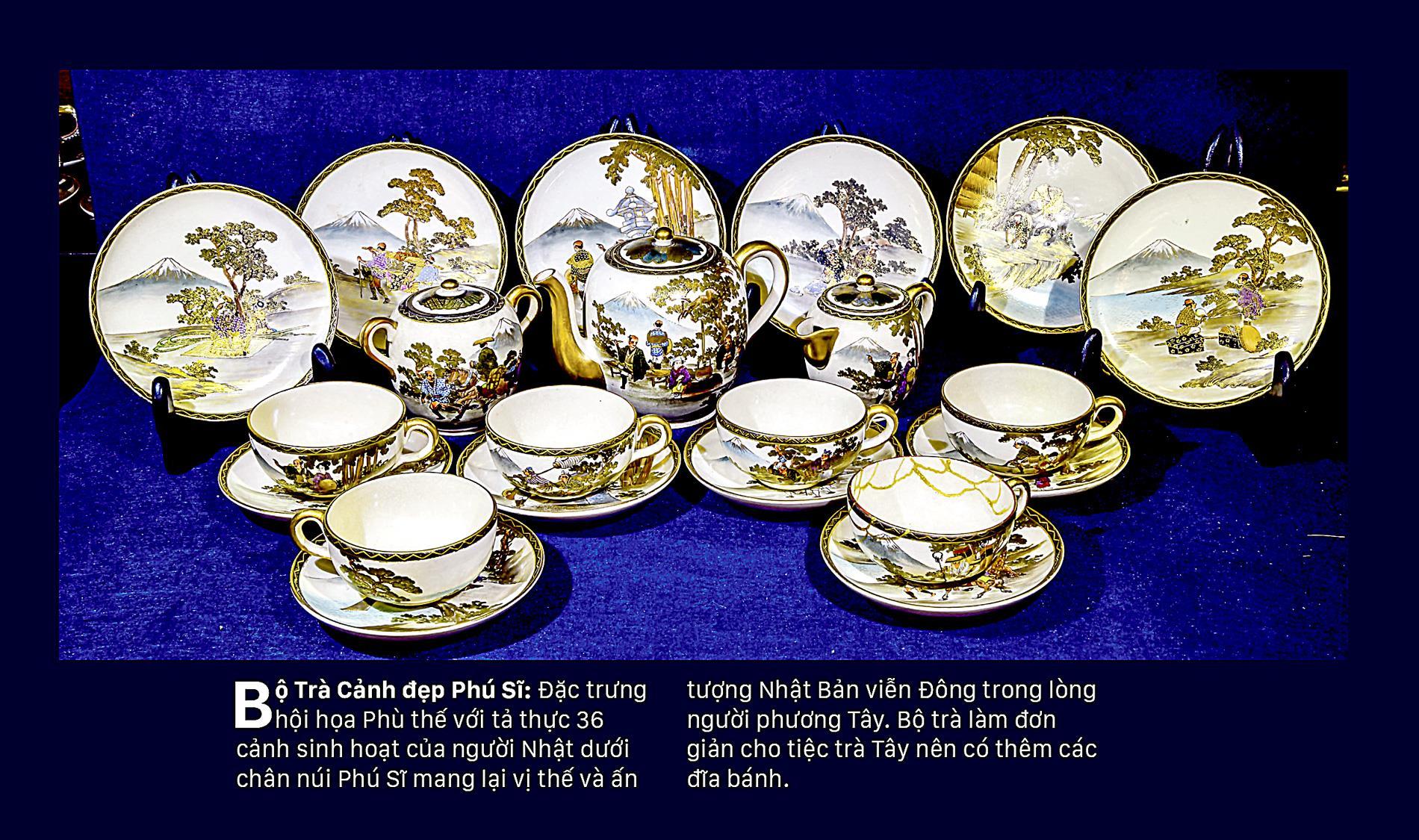 Giao thoa Đông - Tây qua những bộ trà SATSUMA ảnh 5