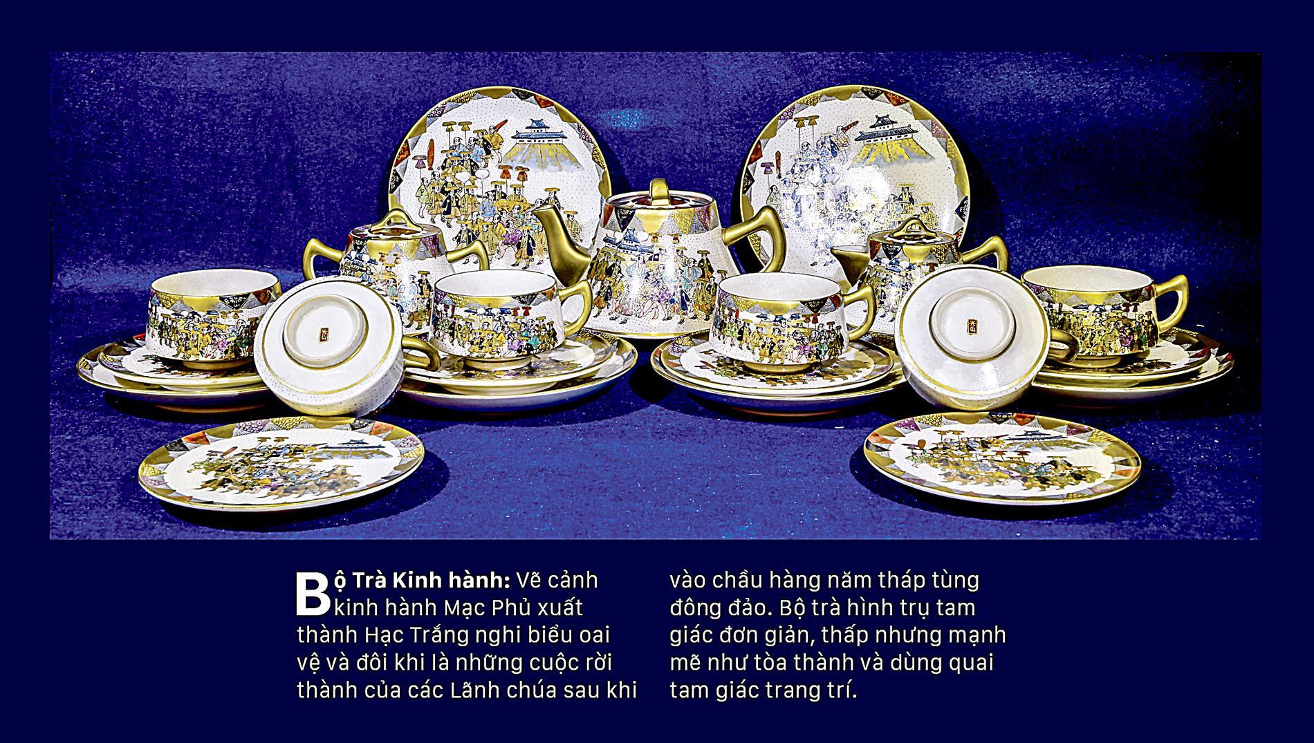 Giao thoa Đông - Tây qua những bộ trà SATSUMA ảnh 7