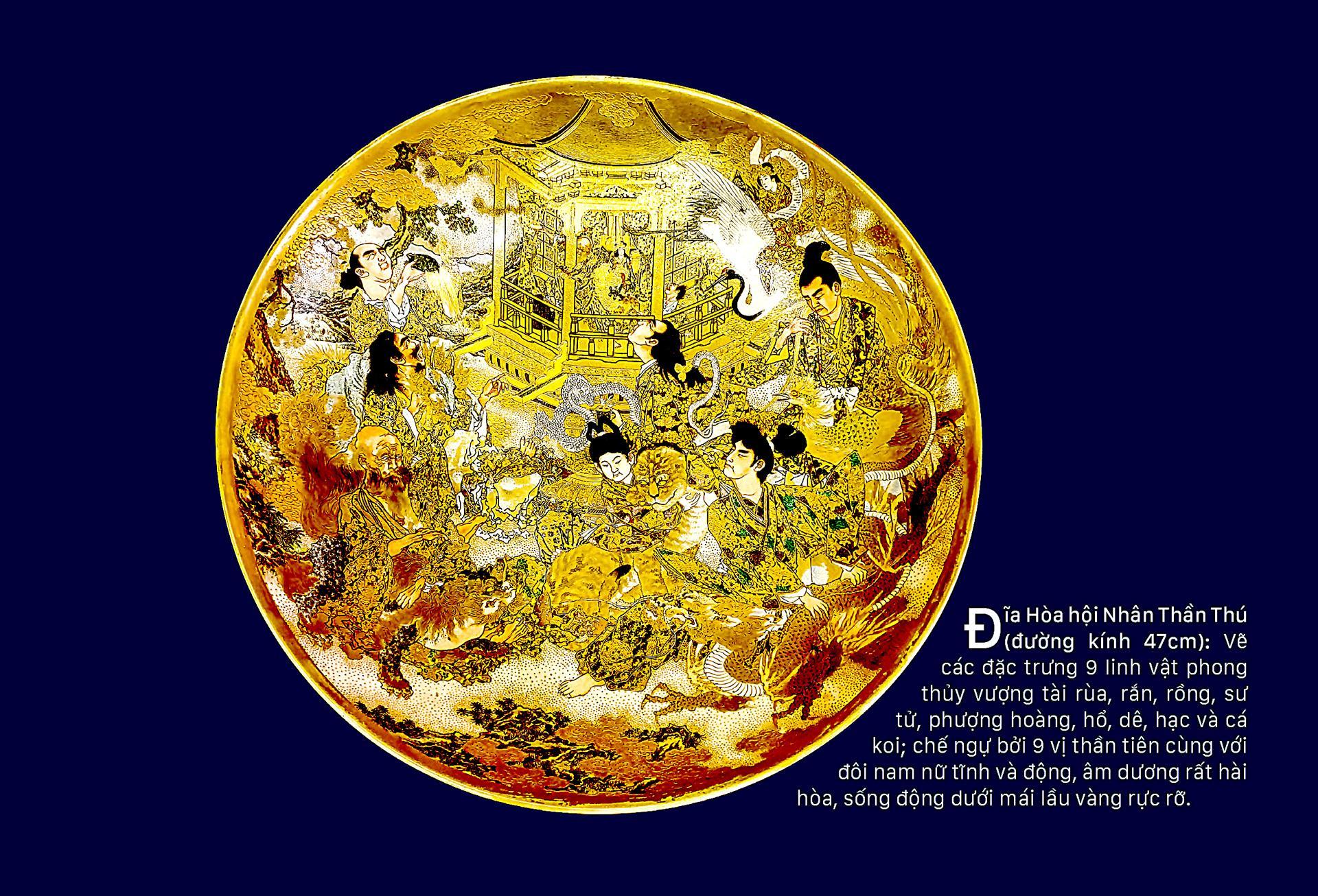 Tín ngưỡng phong thủy trên gốm Satsuma  ảnh 6