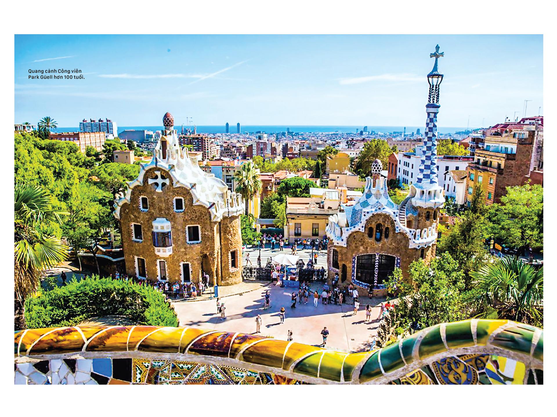 Thiên đường kiến trúc Gaudí ở Barcelona ảnh 1