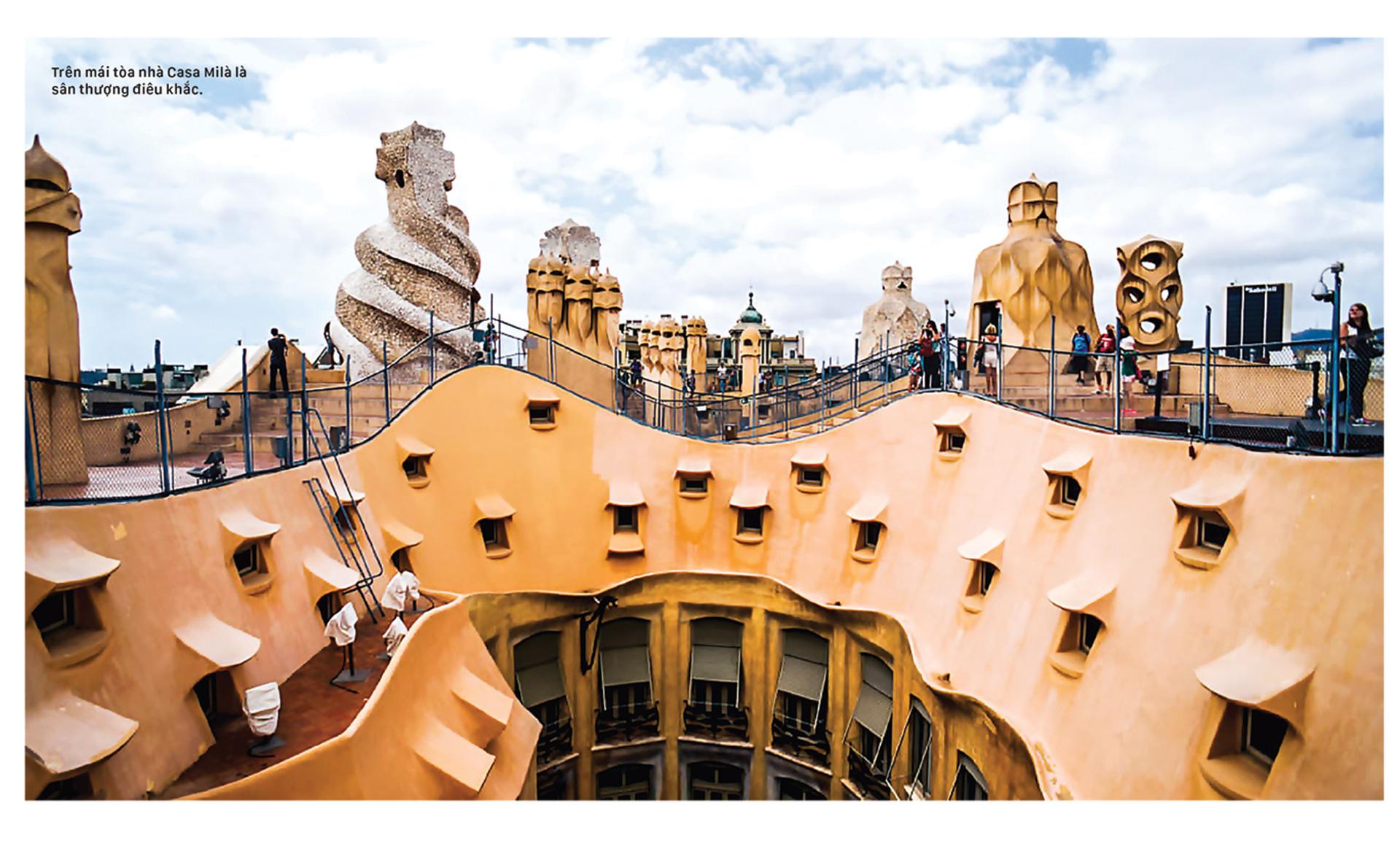 Thiên đường kiến trúc Gaudí ở Barcelona ảnh 2