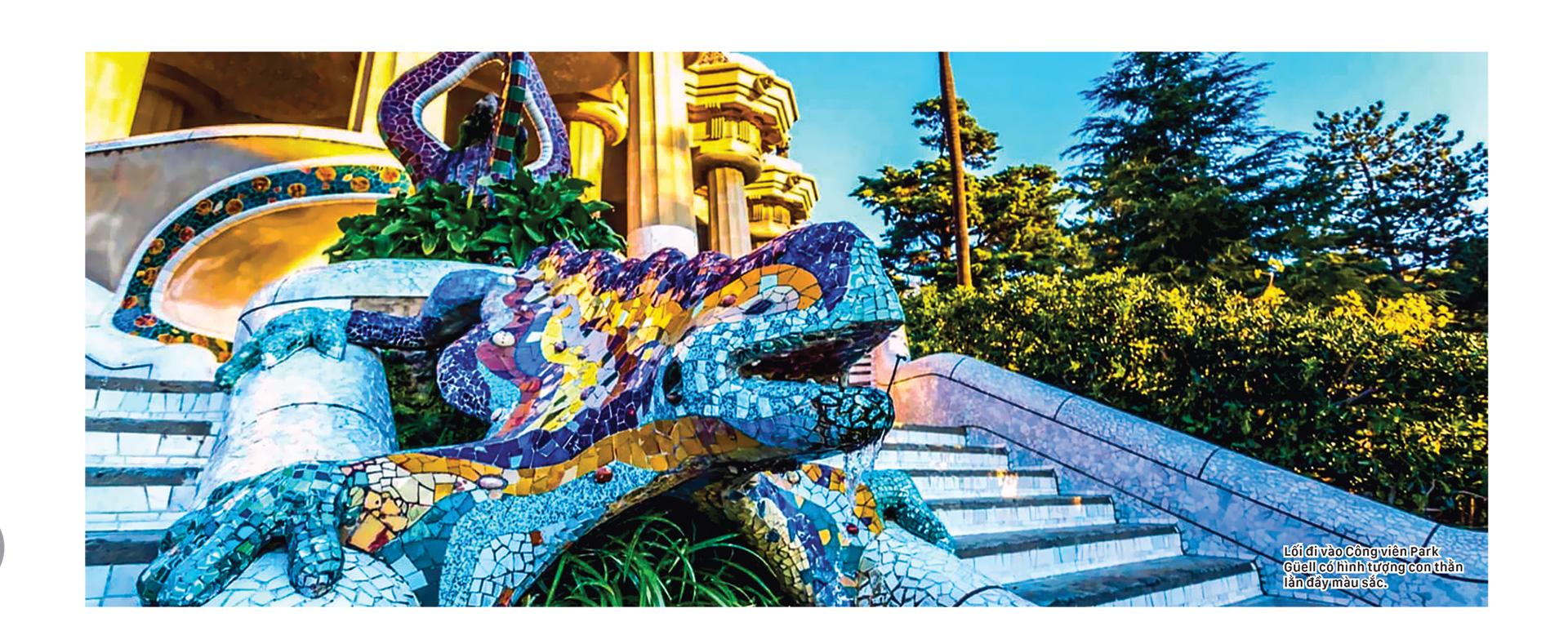 Thiên đường kiến trúc Gaudí ở Barcelona ảnh 3