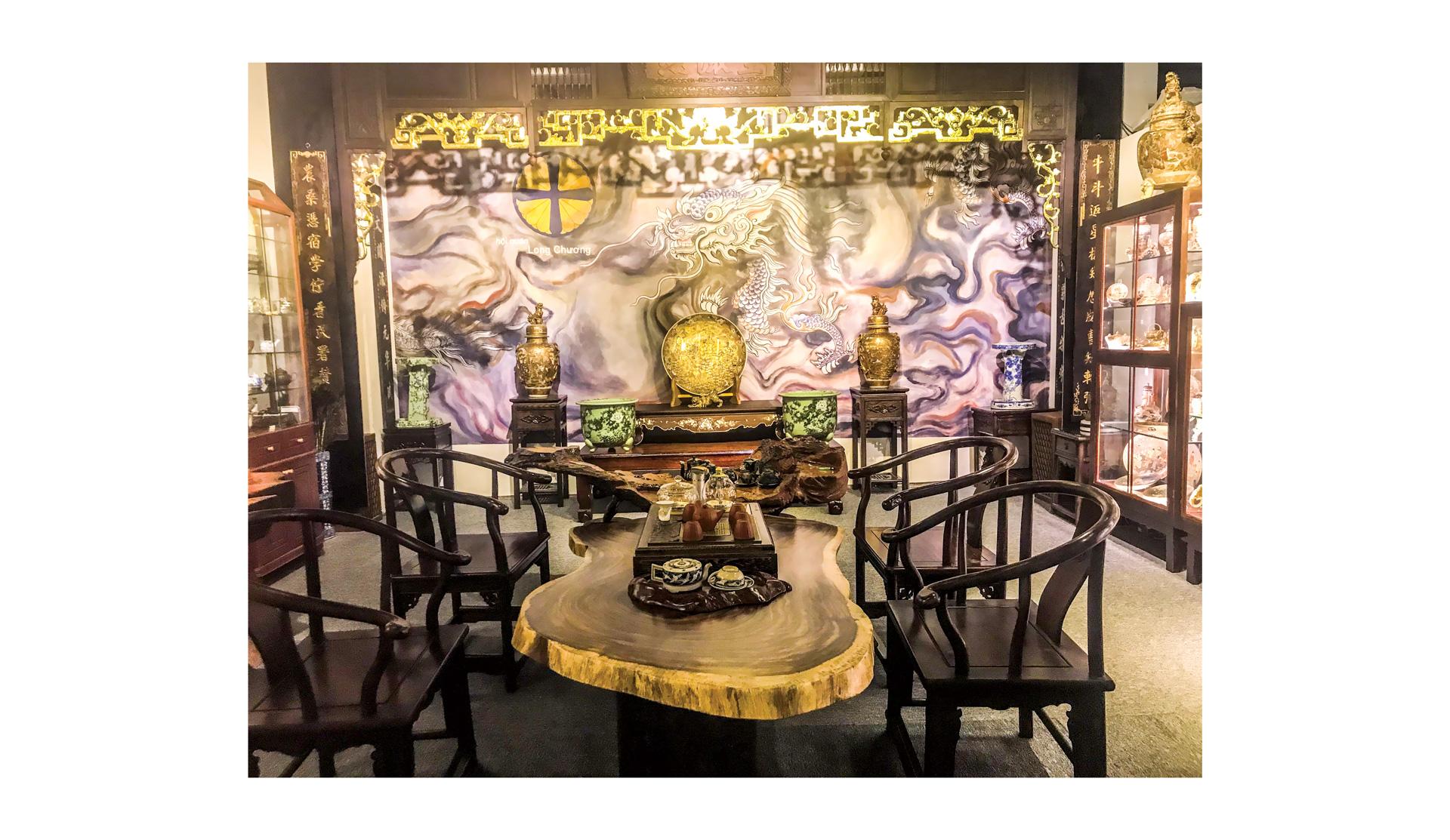 Hội quán Long Chương, hội ngộ đam mê gốm sứ Nhật Bản ảnh 1