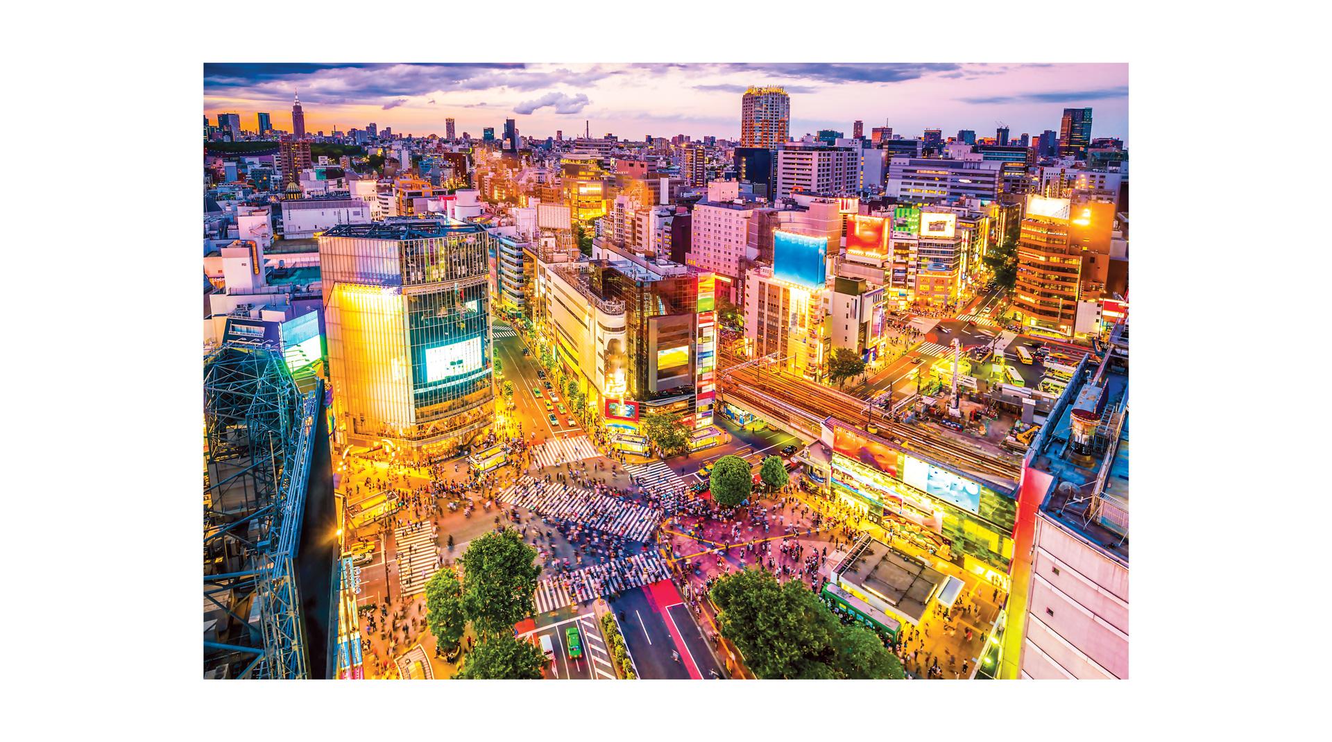 Những khu phố  độc đáo và hiện đại tại Tokyo ảnh 1