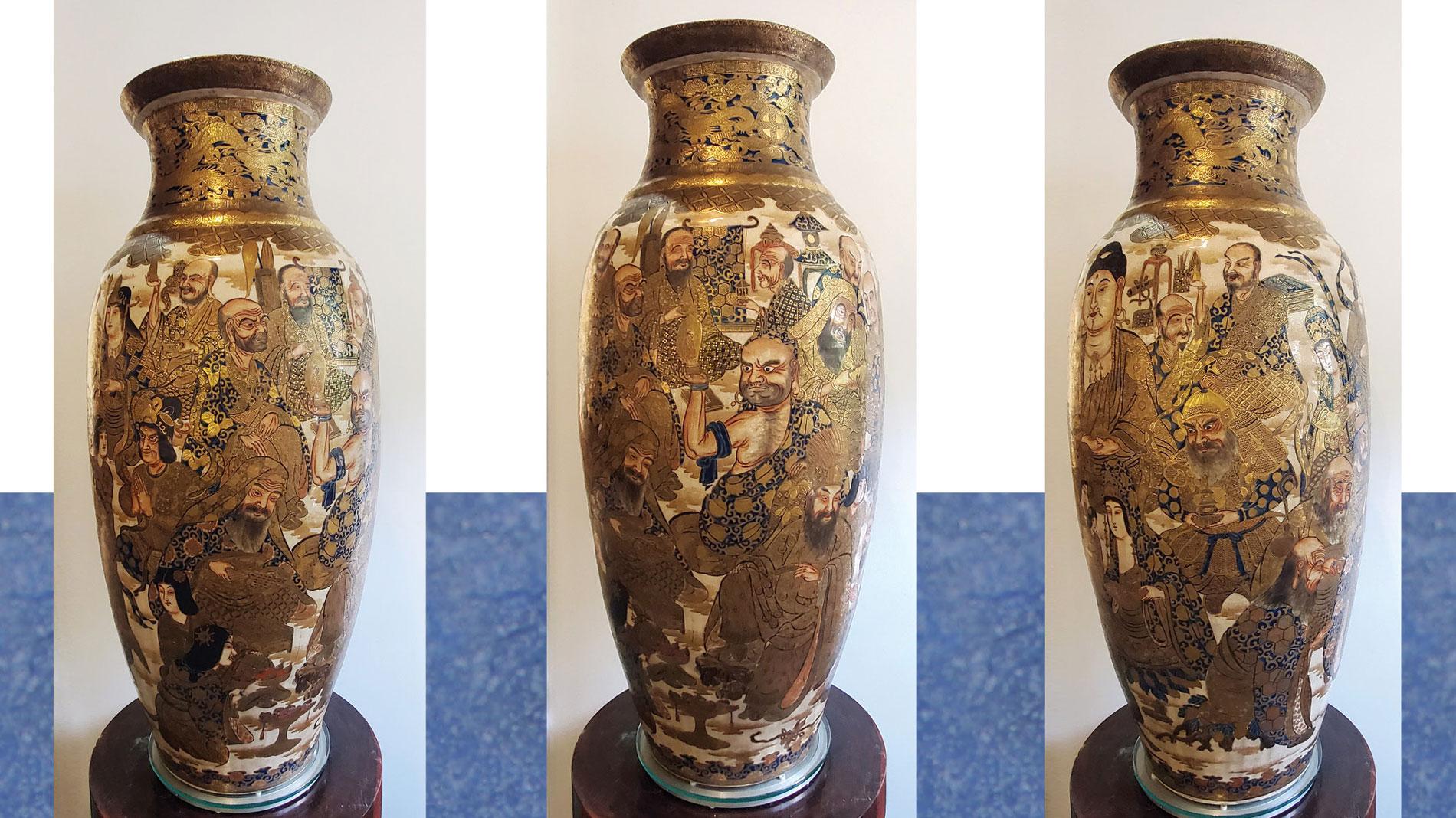 Kỳ ngoạn Satsuma (Gosu-Blue) Niên đại 1818-1890 và giới sưu tập Sài Gòn ảnh 3