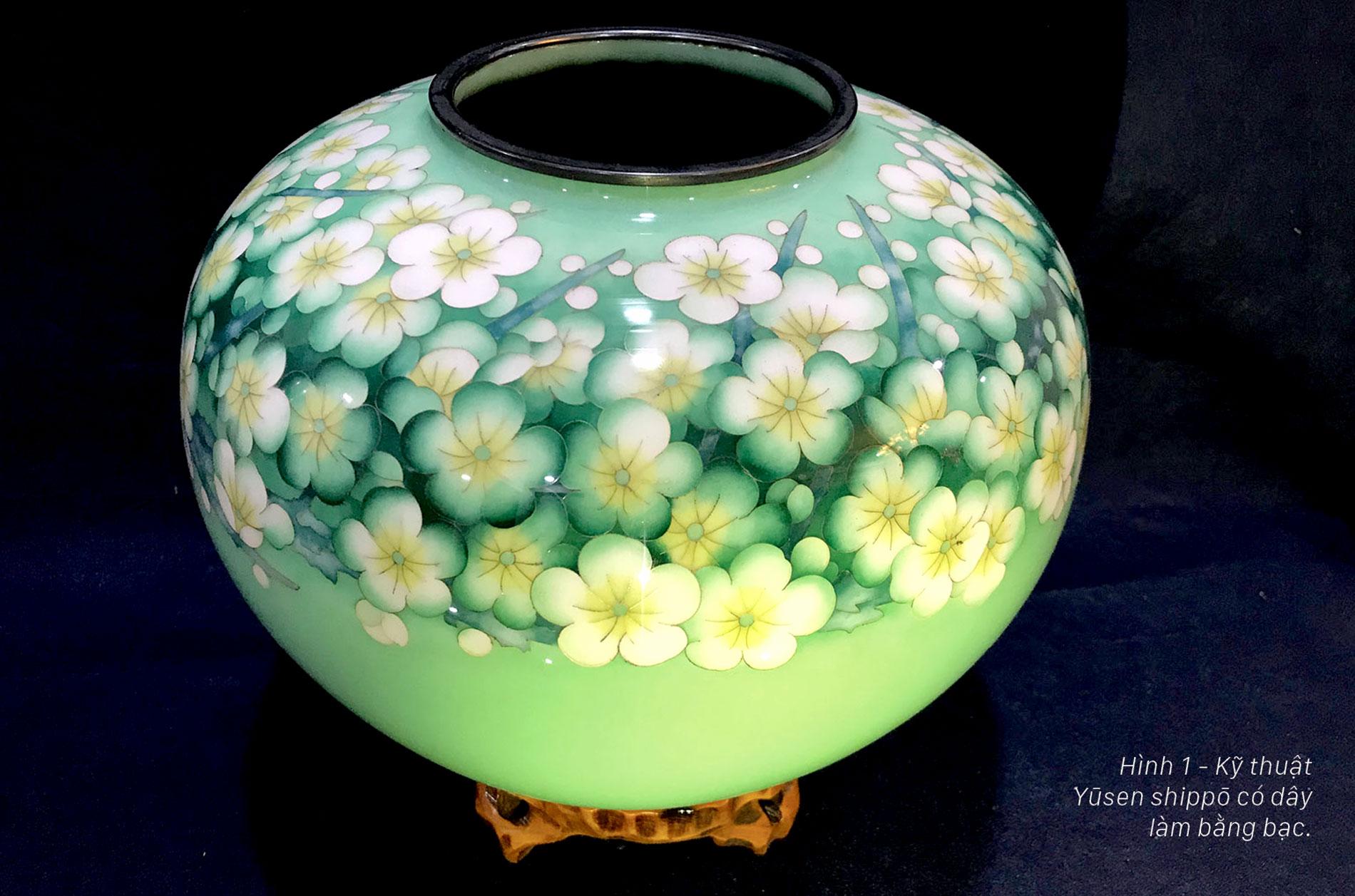 Shipō Yaki - Nghệ thuật pháp lang hoàn mỹ Nhật Bản ảnh 1