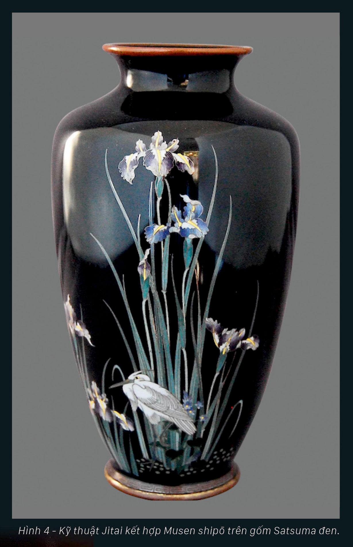 Shipō Yaki - Nghệ thuật pháp lang hoàn mỹ Nhật Bản ảnh 4