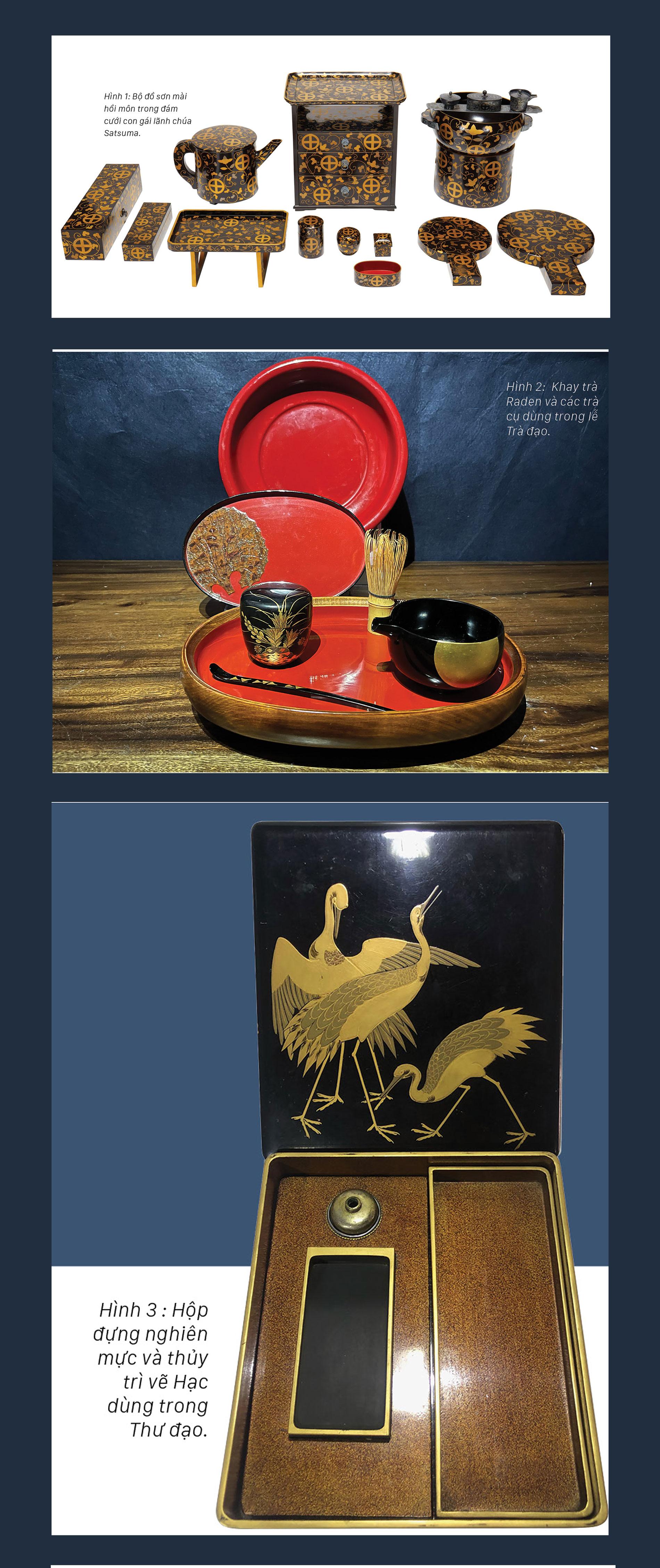 Nghệ thuật Maki-e trên gỗ và những điều  thú vị của sơn mài  xứ Phù Tang ảnh 1