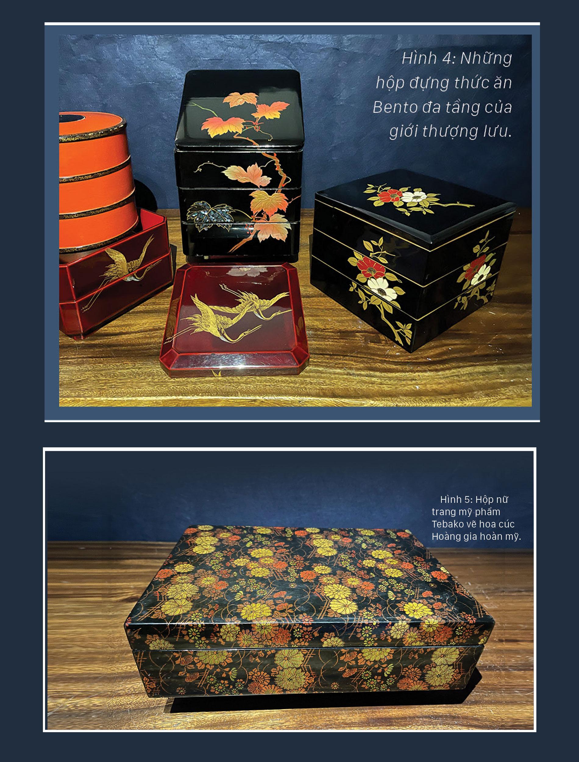 Nghệ thuật Maki-e trên gỗ và những điều  thú vị của sơn mài  xứ Phù Tang ảnh 2