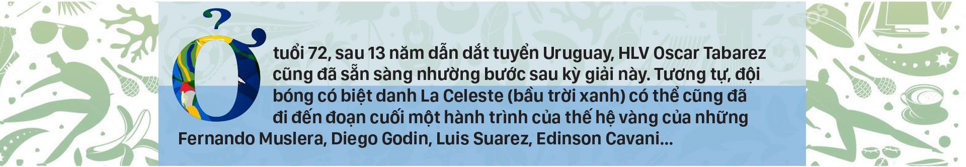 Bảng C: URUGUAY Cơ hội cuối cho thế hệ Suarez, Cavani ảnh 1