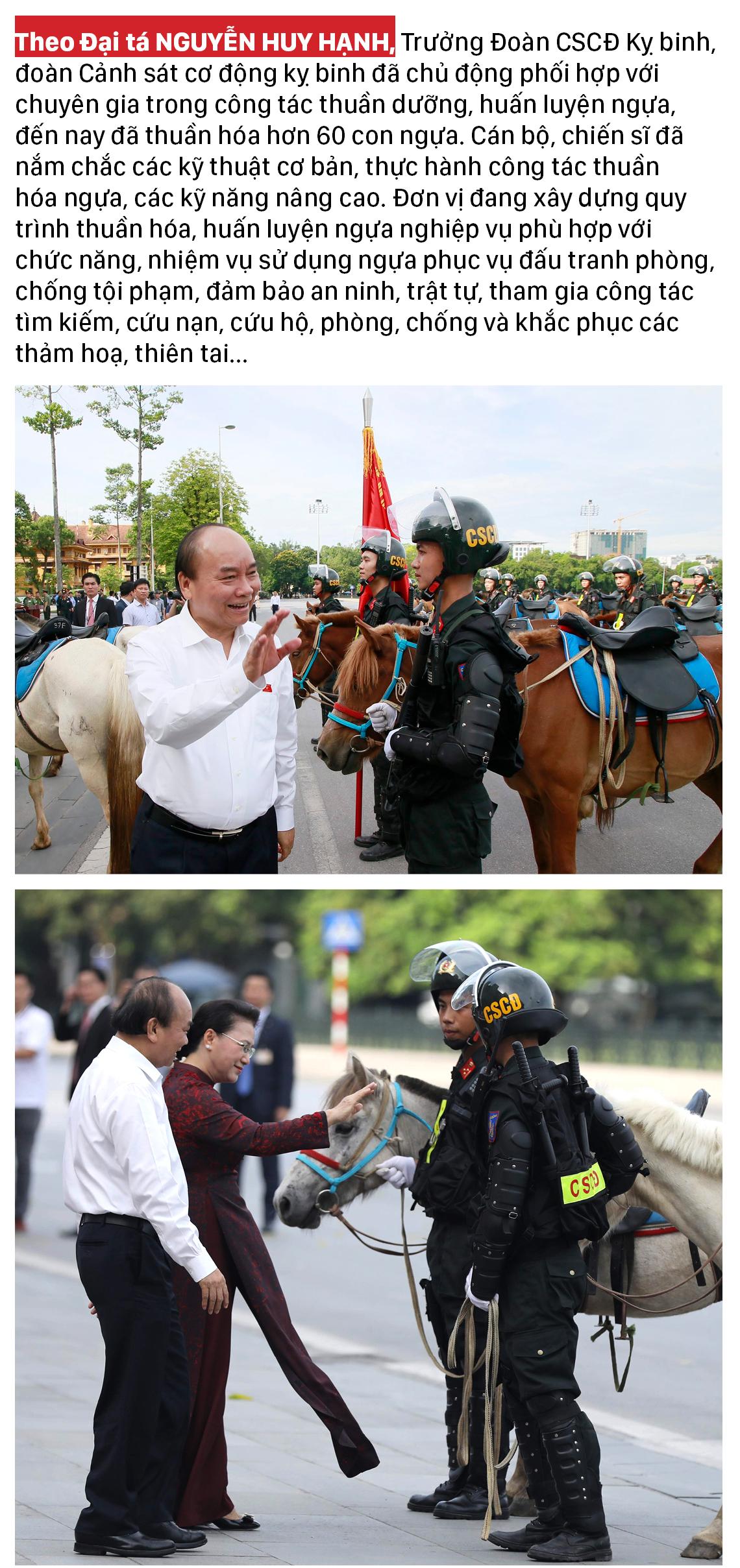 Ra mắt đoàn cảnh sát cơ động kỵ binh  ảnh 3