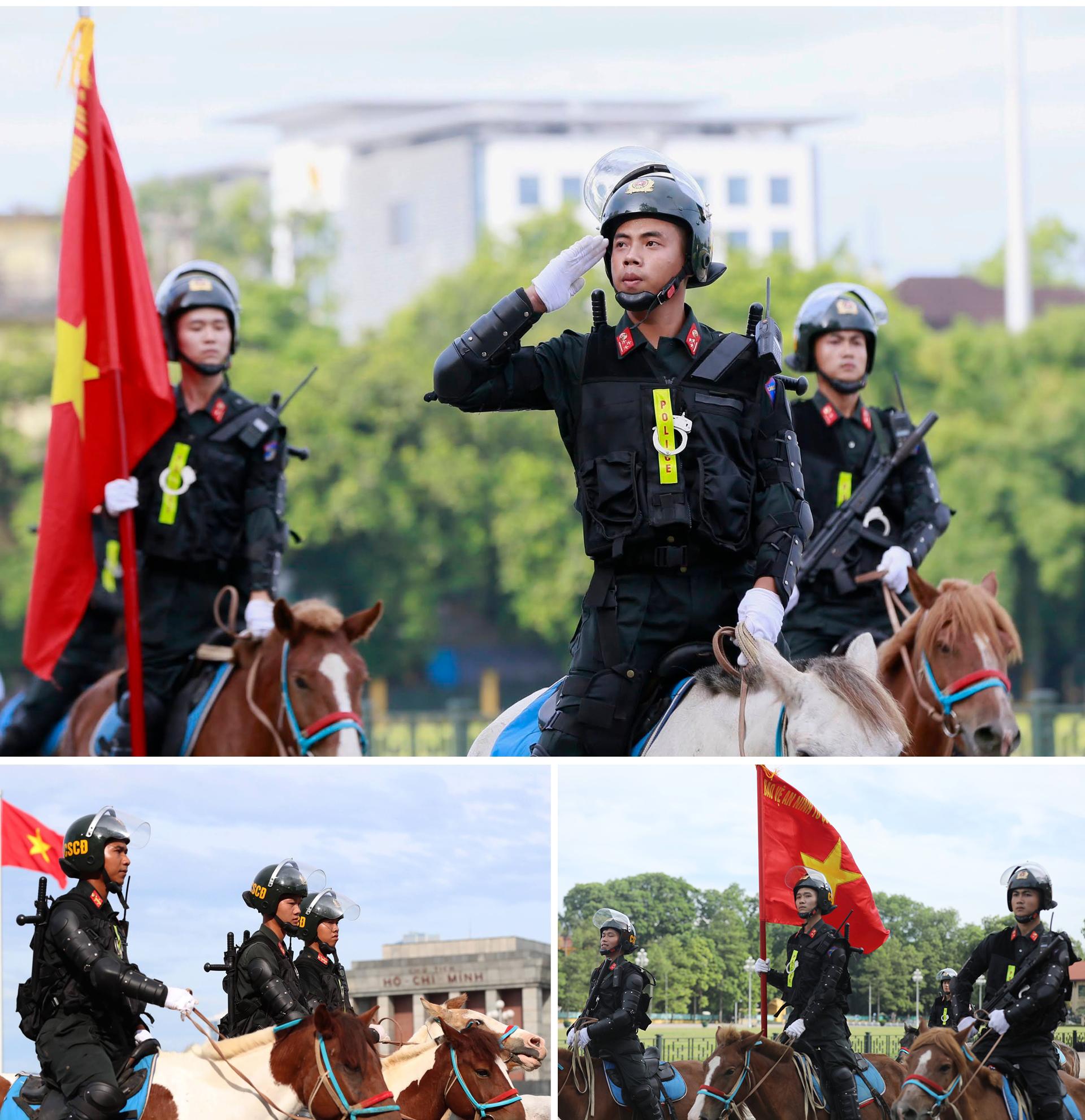 Ra mắt đoàn cảnh sát cơ động kỵ binh  ảnh 7