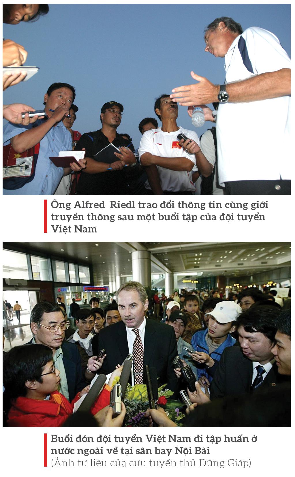 Hành trình 9 năm của ông Alfred Riedl với bóng đá Việt Nam ảnh 8
