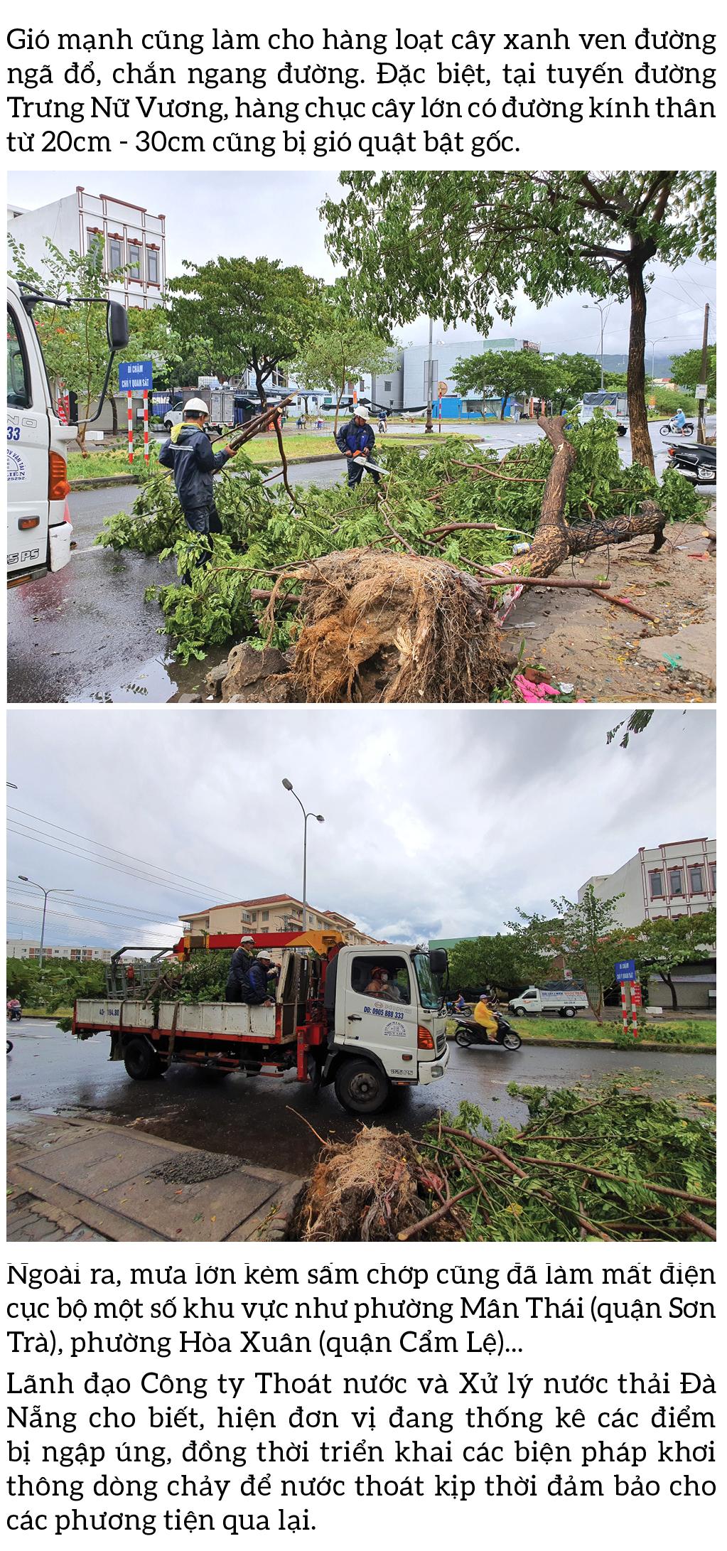 Bão số 5 đổ bộ miền Trung gây lốc xoáy, mưa lớn và ngập úng ảnh 15