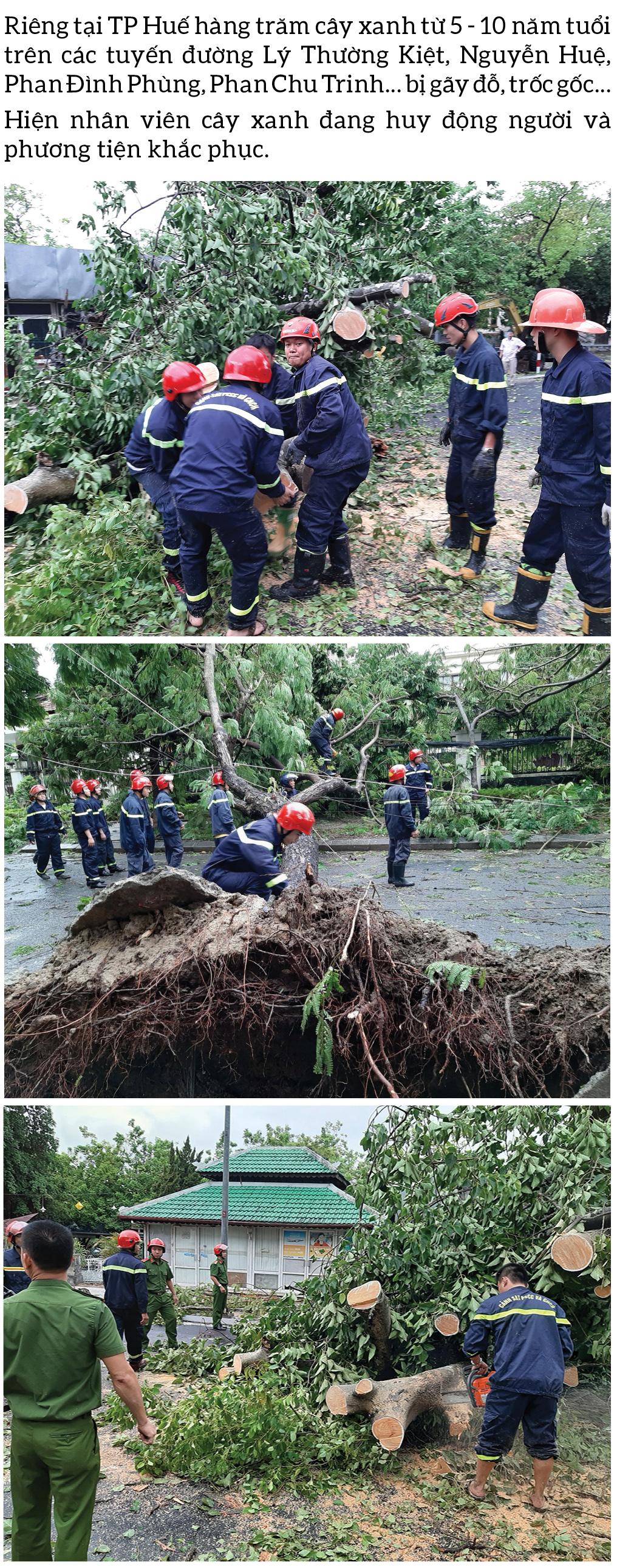 Bão số 5 đổ bộ miền Trung gây lốc xoáy, mưa lớn và ngập úng ảnh 5