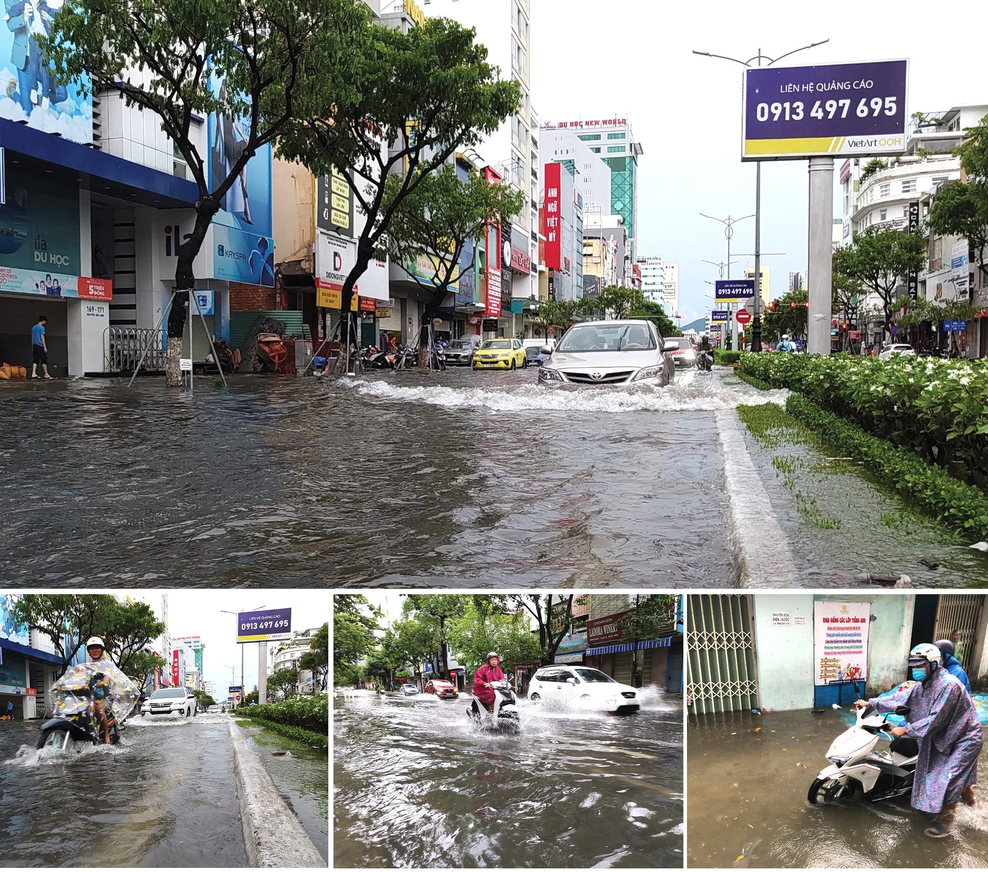 Bão số 5 đổ bộ miền Trung gây lốc xoáy, mưa lớn và ngập úng ảnh 14