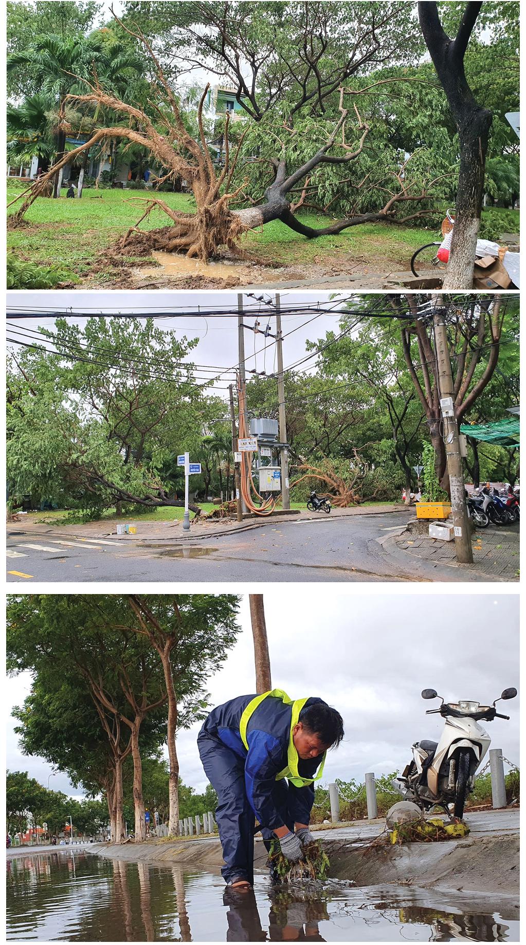 Bão số 5 đổ bộ miền Trung gây lốc xoáy, mưa lớn và ngập úng ảnh 17