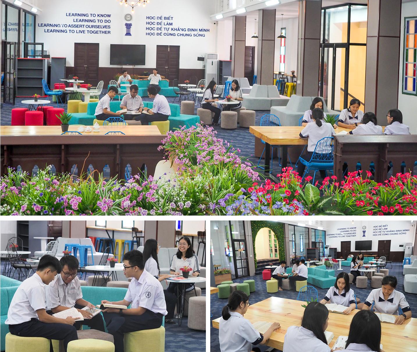 """Đến thăm thư viện """"5 sao"""" Trường THPT chuyên Trần Đại Nghĩa ảnh 15"""