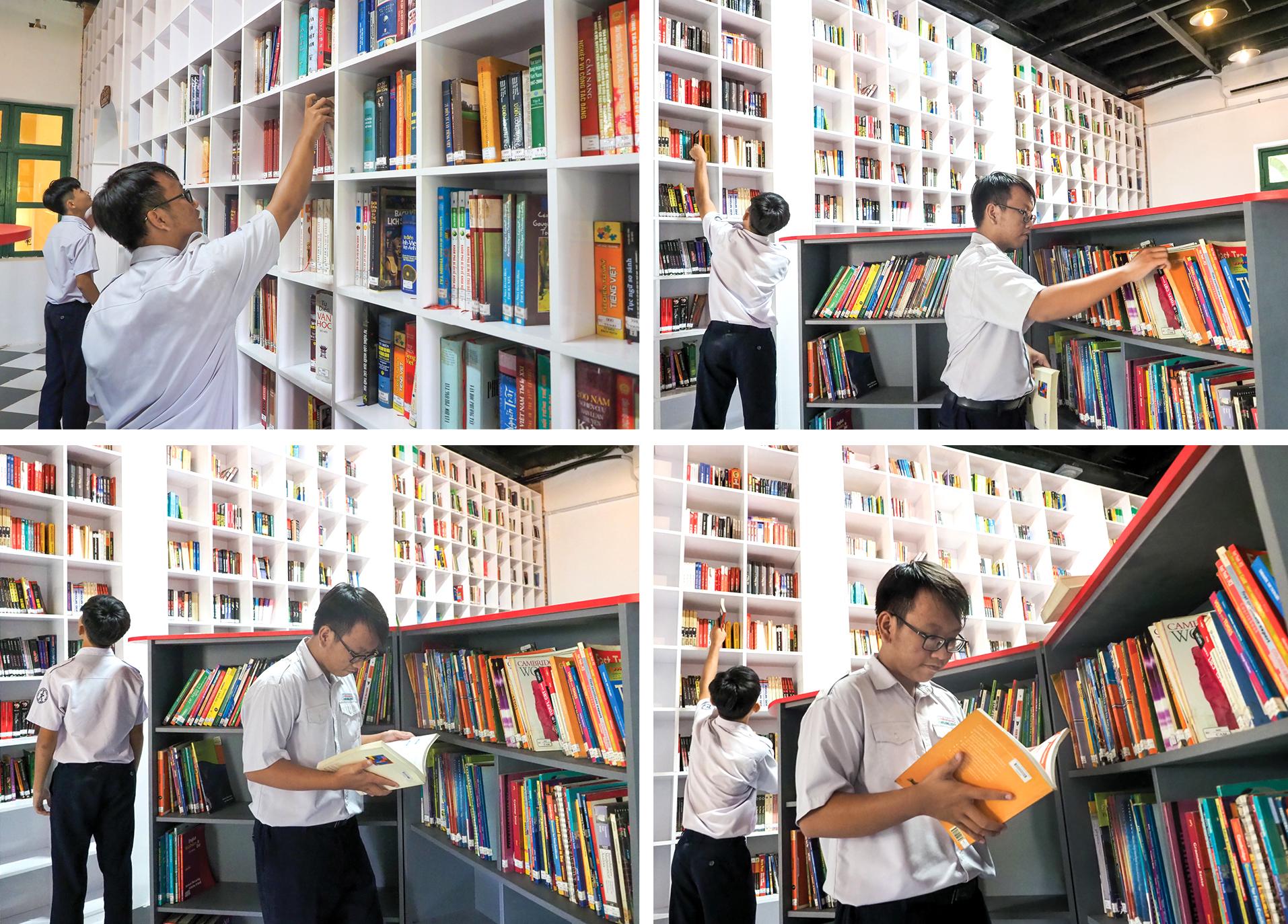 """Đến thăm thư viện """"5 sao"""" Trường THPT chuyên Trần Đại Nghĩa ảnh 5"""