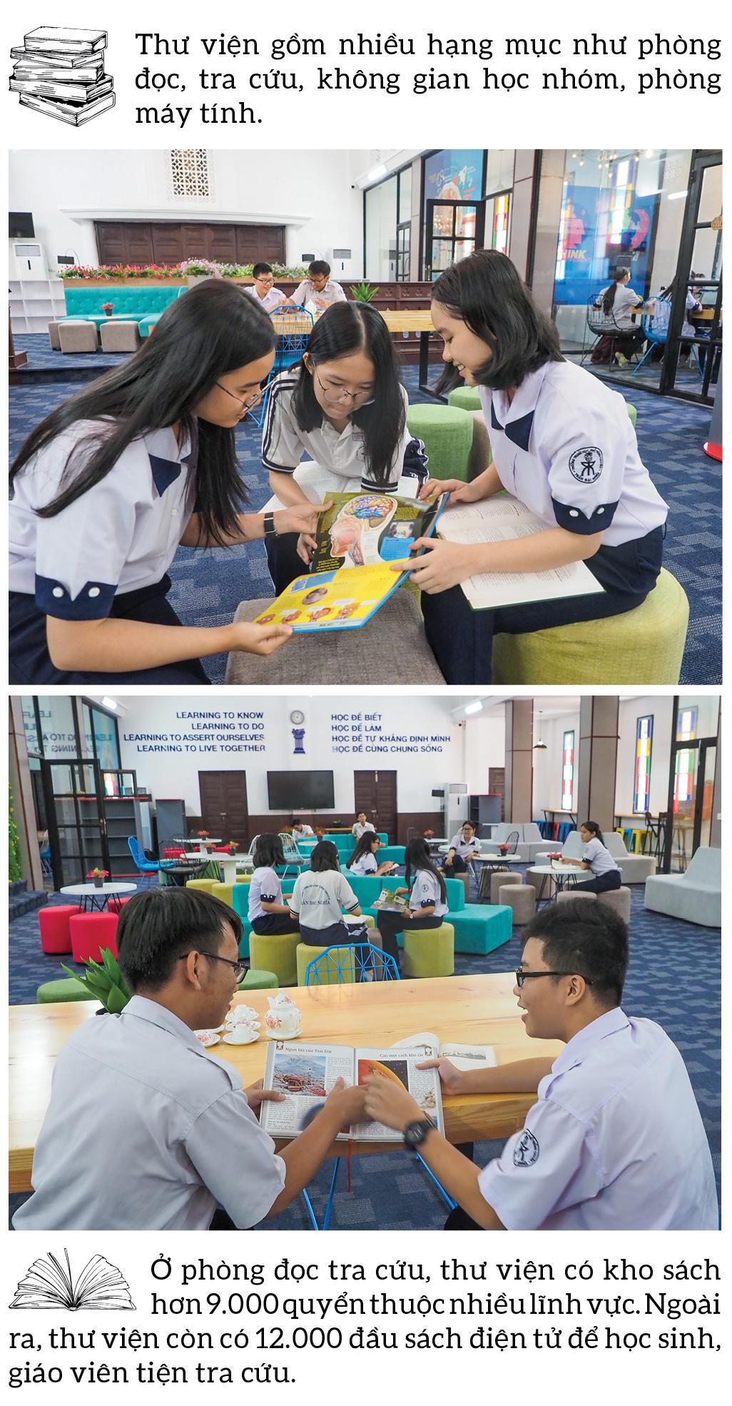 """Đến thăm thư viện """"5 sao"""" Trường THPT chuyên Trần Đại Nghĩa ảnh 6"""