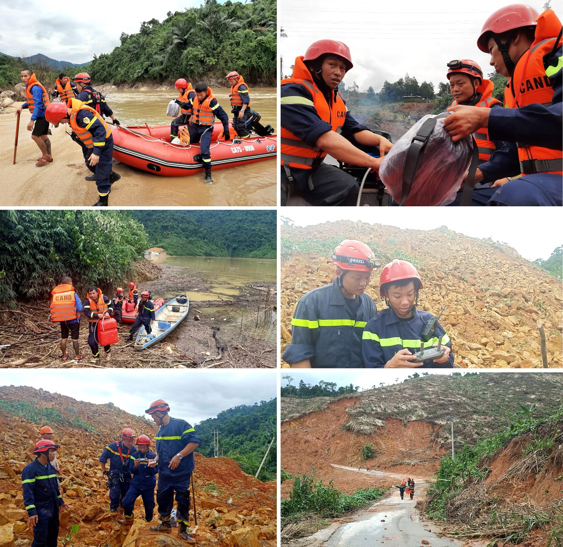 Toàn cảnh cuộc vượt rừng tìm kiếm, cứu nạn người mất tích ở Rào Trăng 3 ảnh 15